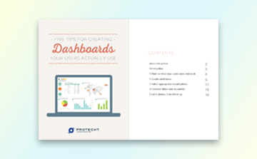 Five Tips for Creating Dashboards eBook